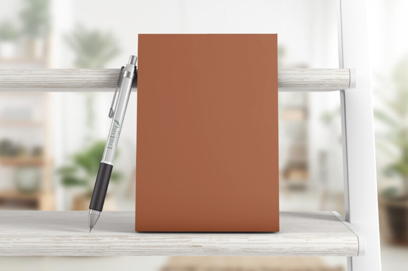The printed 2021 Everything Planner from Dear Diary in A5, Rust
