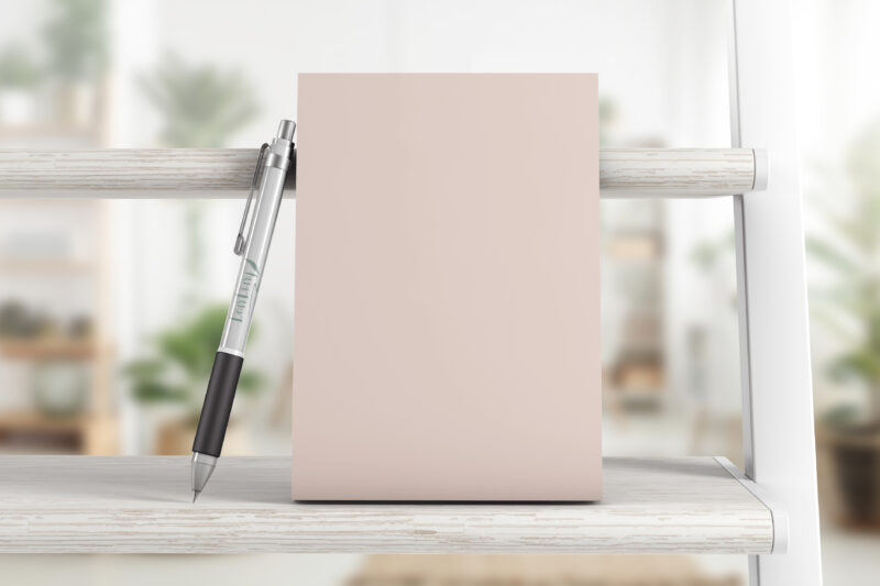 The printed 2021 Everything Planner from Dear Diary in A5, Blush