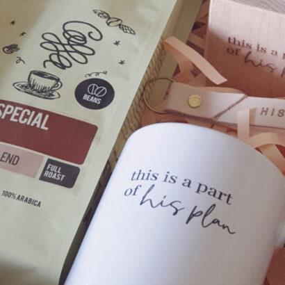 This is a part of his plan coffee gift box