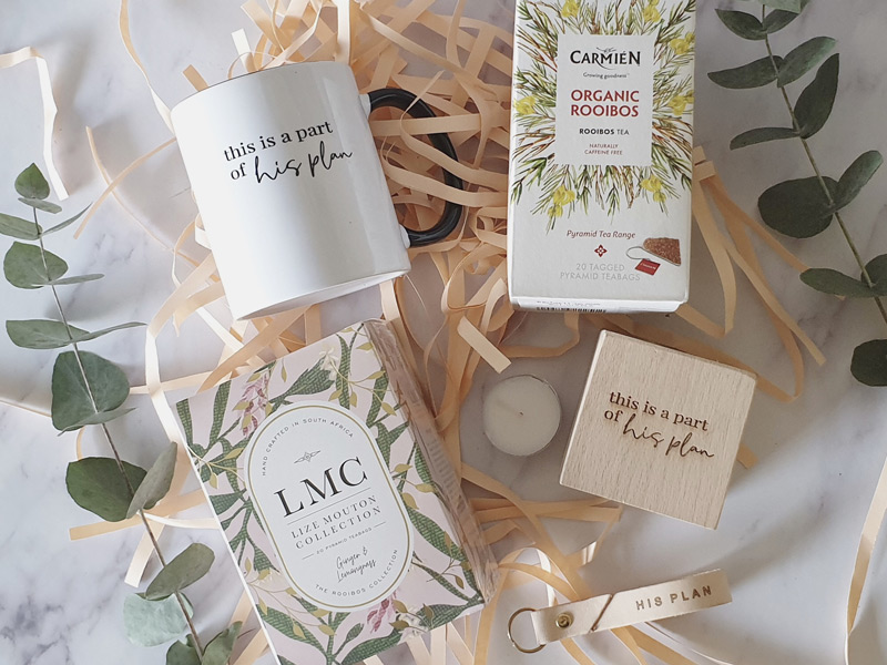 This is a part of his plan tea gift box