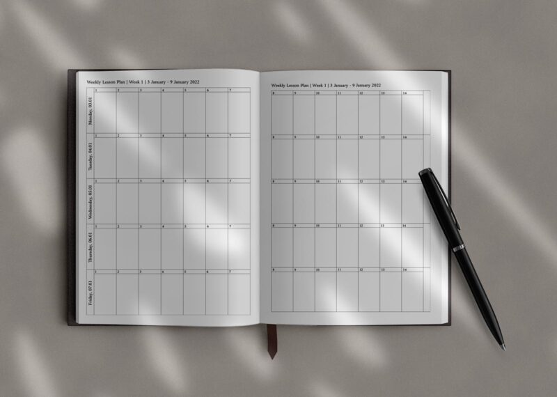 Lesson Planner Overview in the Teacher Planner